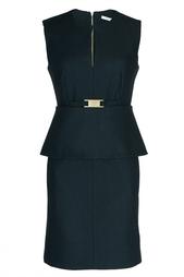 Черное коктейльное платье Diane von Furstenberg