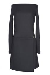 Шерстяное платье на молнии Victoria Beckham