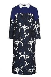 Платье с цветочным принтом Vionnet