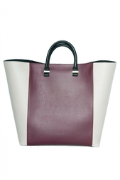 Кожаная сумка с короткими ручками - нет в наличии Victoria Beckham