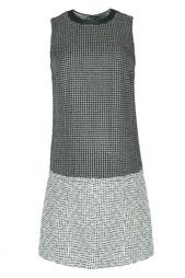 Платье из шелка и вискозы Diane von Furstenberg