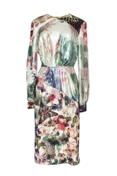Платье с принтом и пайетками Preen