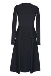 Черное платье из вискозы Roland Mouret