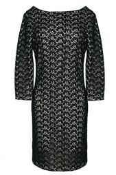 Платье из хлопка с верхом из кружева Diane von Furstenberg