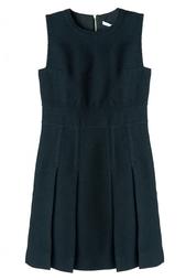 Шерстяное платье с юбкой-гофре Diane von Furstenberg