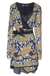 Шелковое платье с запахом Proenza Schouler