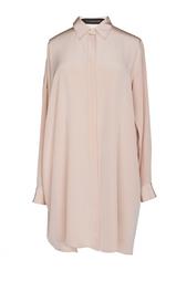 Шелковое платье-рубашка Thakoon