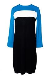 Платье из вискозы с нейлоном Aina Diane von Furstenberg