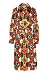 Винтажное платье с принтом (70-е гг.) Lanvin Vintage