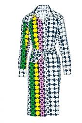 Винтажное платье с цветочным принтом (70-е гг.) Lanvin Vintage