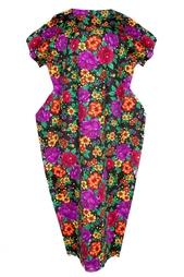 Платье с ярким цветочным принтом Comme des Garcons