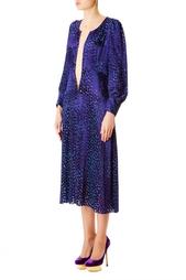 Платье из вискозы с глубоким декольте Junya Watanabe