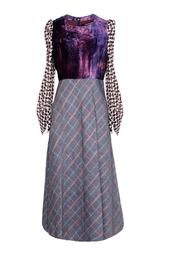 Шерстяное платье ниже колена Junya Watanabe