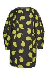 Свободное пальто с принтом Diane von Furstenberg
