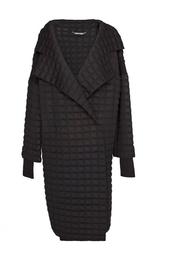 Прямое пальто из шерсти Diane von Furstenberg
