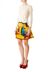 Хлопковый топ с вышивкой Isabel Marant