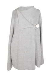 Шерстяной свитер с застежкой Diane von Furstenberg