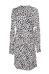 Платье с принтом в виде лепестков Diane von Furstenberg