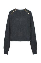 Шерстяной свитер с декоративными пуговицами Isabel Marant