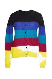 Кардиган с разноцветными полосами Carven