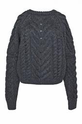Шерстяной свитер крупной вязки Isabel Marant