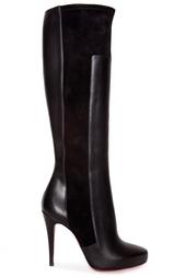 Высокие сапоги Ysa 100 Calf/Veau Velours Christian Louboutin