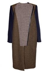 Пальто с асимметричной застежкой Stella Mc Cartney