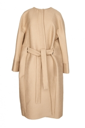 Пальто свободного кроя с поясом Vionnet