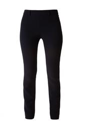 Черные брюки из вискозы и ацетата Vionnet