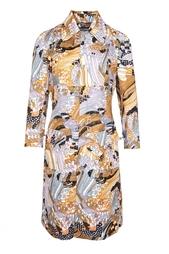 Платье с восточным принтом Dolche Gabbana