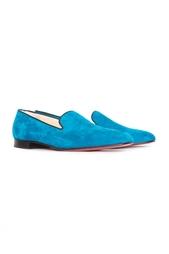 Ботинки Henriette Flat Veau Velours/GG Christian Louboutin