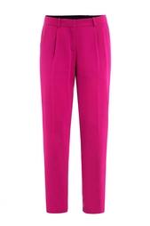 Прямые брюки цвета фуксия Diane von Furstenberg
