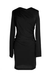 Драпированное платье из шелка Diane von Furstenberg