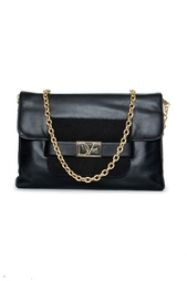 Клатч на цепочке DvF Mimosa Clutch Leather Diane von Furstenberg
