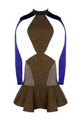 Приталенное платье с юбкой-клеш Stella Mc Cartney