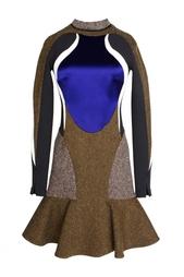 Приталенное платье с юбкой-клеш. Stella Mc Cartney