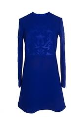 Темно-синее платье-мини с принтом Stella Mc Cartney