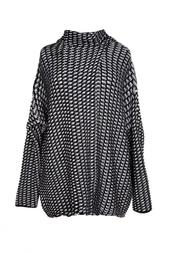 Шерстяной свитер с запахом Diane von Furstenberg