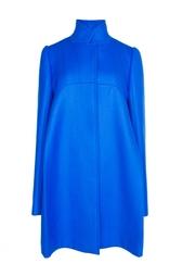 Голубое пальто свободного кроя Stella Mc Cartney