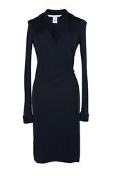 Платье из вискозы и полиамида Diane von Furstenberg