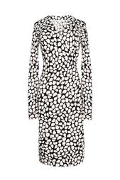 Платье из хлопка с добавлением шелка Diane von Furstenberg