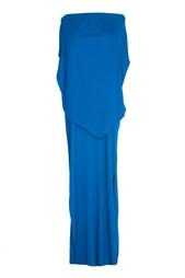 Платье в пол из хлопка Stella Mc Cartney