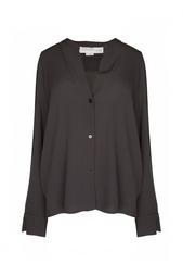 Шелковая блузка с длинными рукавами Stella Mc Cartney