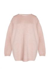 Нежно-розовый свитер из альпаки Stella Mc Cartney