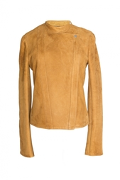 Кожаная куртка с молнией The Row