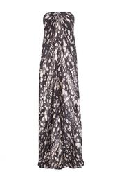 Легкое платье в пол без лямок L'Agence