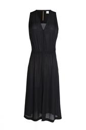 Платье без рукавов с вырезом на груди ALC