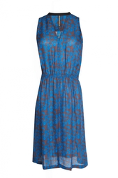 Платье без рукавов с цветочным принтом ALC