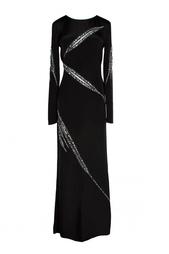 Вечернее платье с геометрическими линиями Emilio Pucci