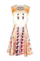 Платье без рукавов с принтом Mary Katrantzou